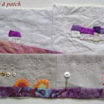 Tableau textile : façon Janet Bolton