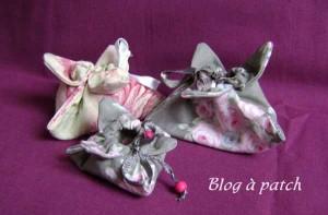 boîtes en tissu forme daffodils