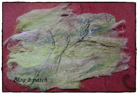 papier en fibres végétales