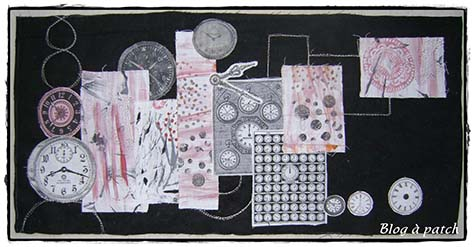 collage tissus