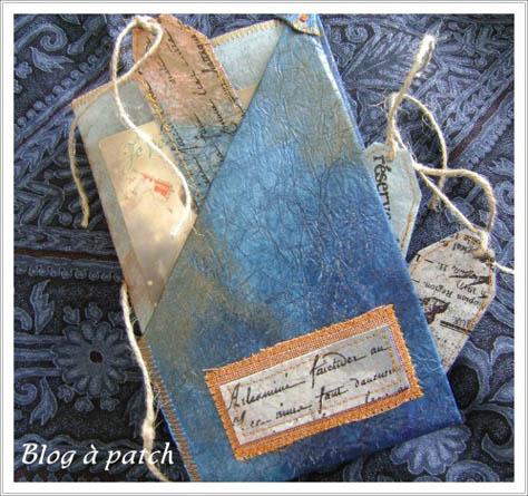 porte-photos textile