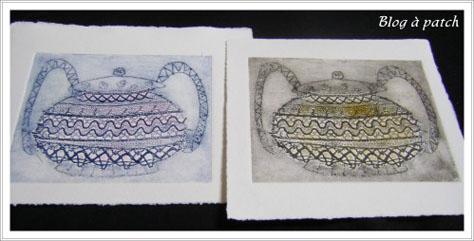Impression sur papier et tissus