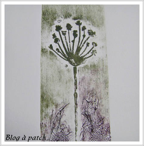impression par collographie
