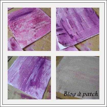 peindre des tissus