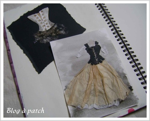 robe papier