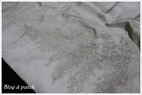 teinture végétale sur textile