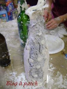 vase textile