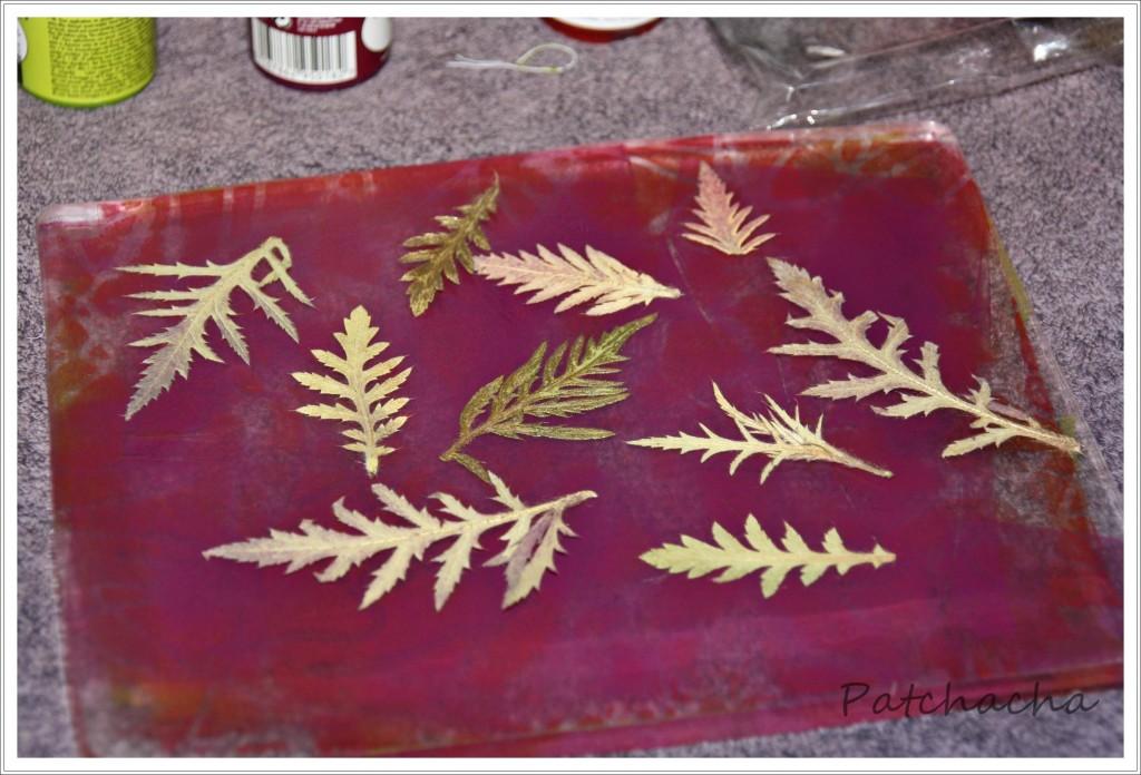 monoprint gelli plate