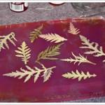 Série-feuilles 5 – des transferts sur tissu