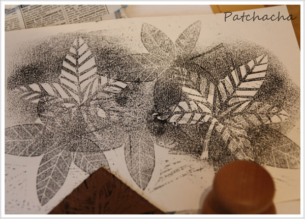 linogravure papier