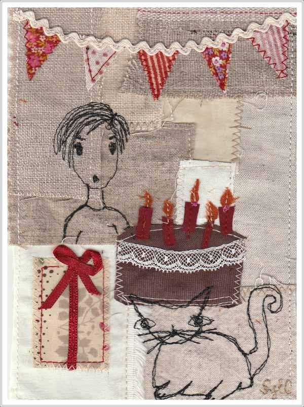 anniversaire, l'histoire du chat