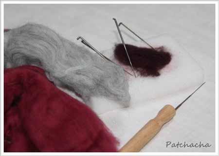 tuto laine feutrée