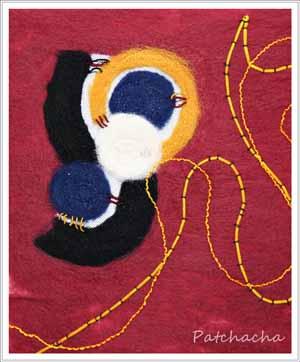 feutre de laine