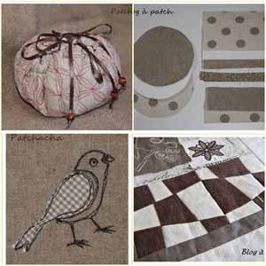 tutos art textile ou patchwork