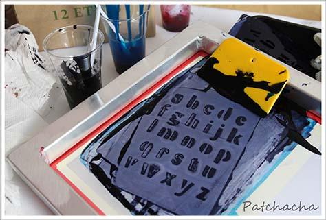 serigraphie sur textile