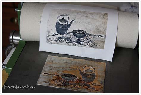 gravure et presse