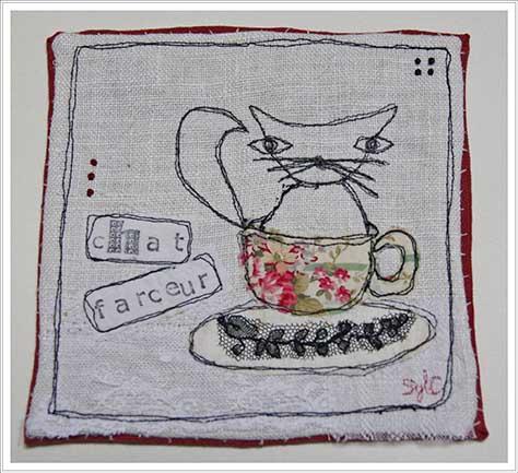 Tableau Textile En 4 Etapes Le Blog De Patchacha
