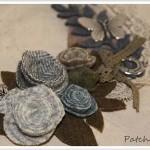 Petit collier en laine