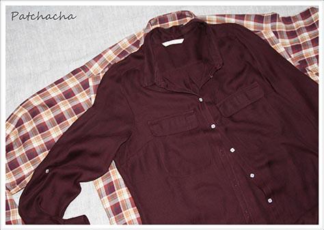 recycler des chemises
