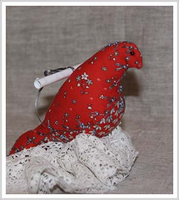 oiseau en tissu Betyle