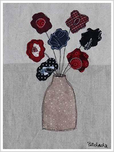 fleurs et tissus
