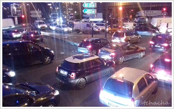 circulation, la nuit
