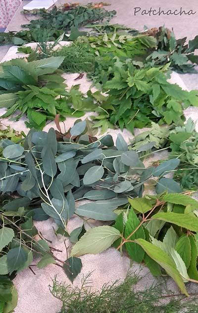 feuilles pour ecoprint