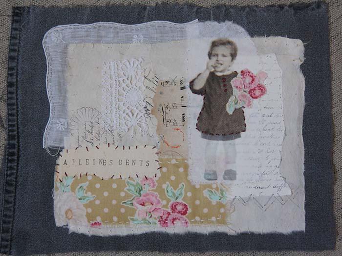 Petite fille au tablier