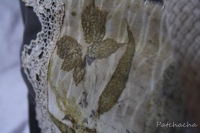 eucalyptus eco print