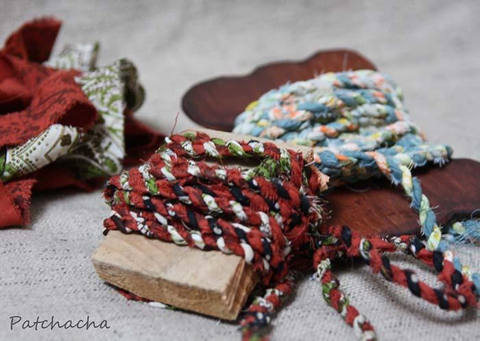 cordelettes en tissu
