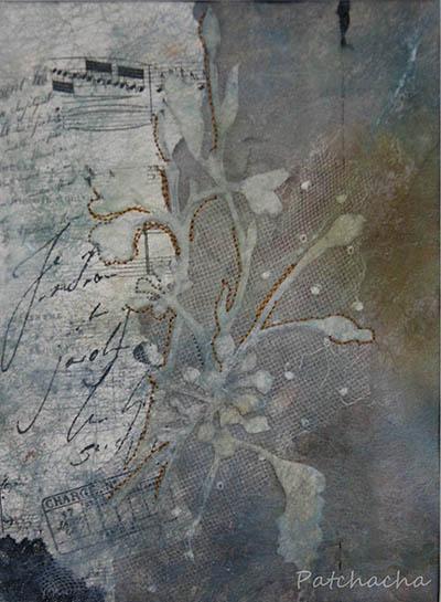 bouquet textile