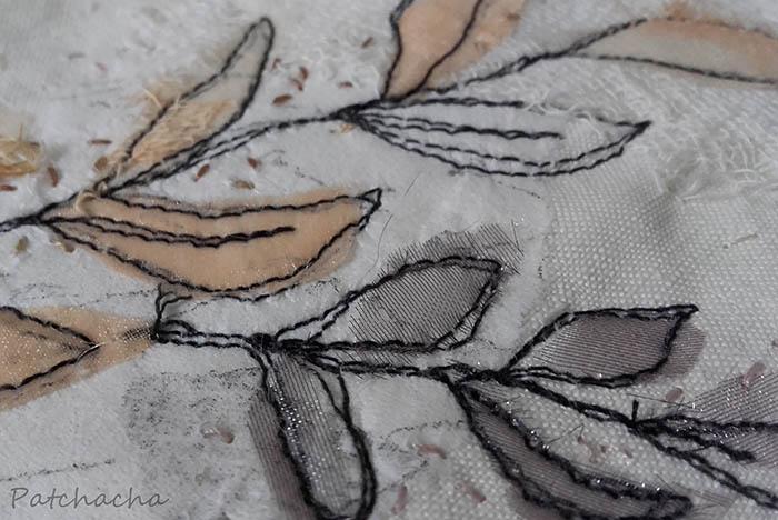 fond art textile