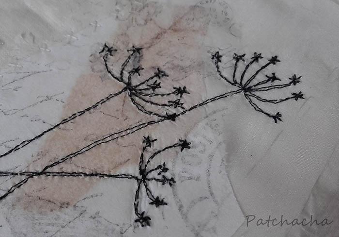 Fleurs en piqué-libre