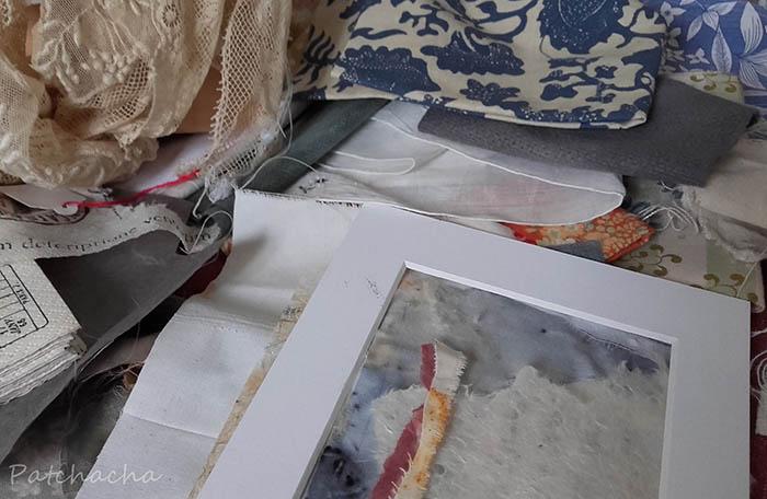 préparer des fonds textiles