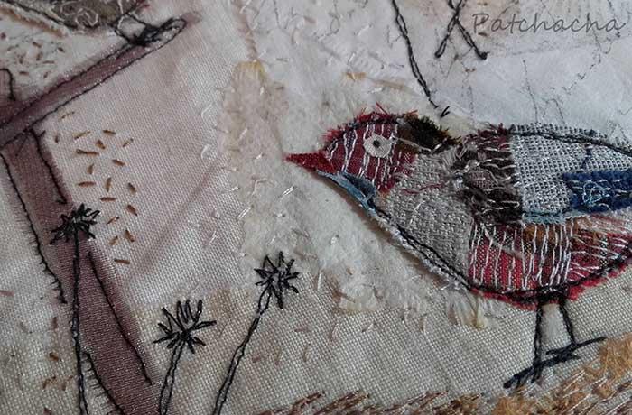 oiseaux patchwork