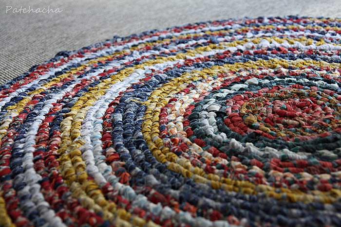 tapis de chiffon
