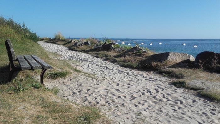 Mousterlin, la plage
