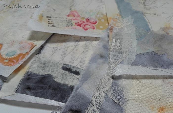mixed-media textile