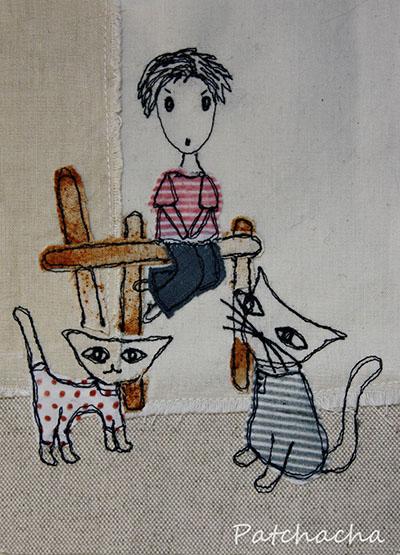 chats en balade