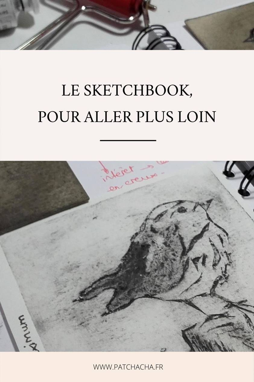 tenir un sketchbook
