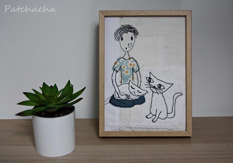 tableau de chats