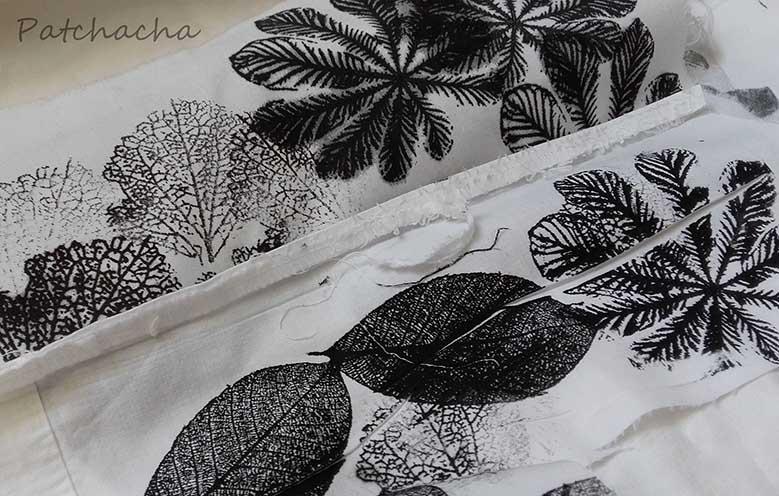 pochoirs feuilles