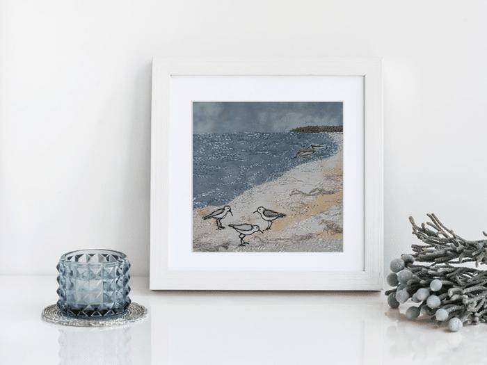 tableau bord de mer